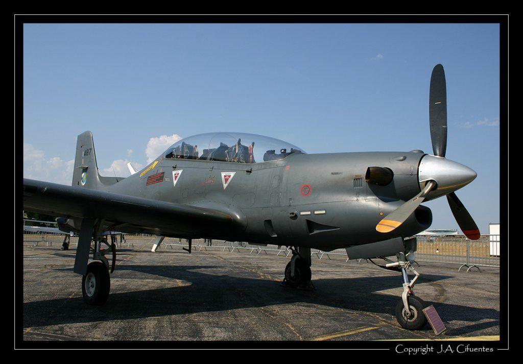 Embraer EMB 312 Tucano de l'Armée de l'Air.