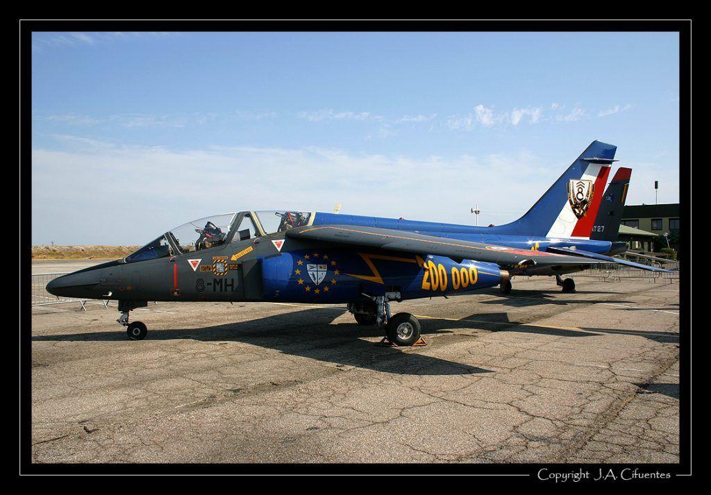 Dassault/Dornier Alpha Jet de l'Armée de l'Air.