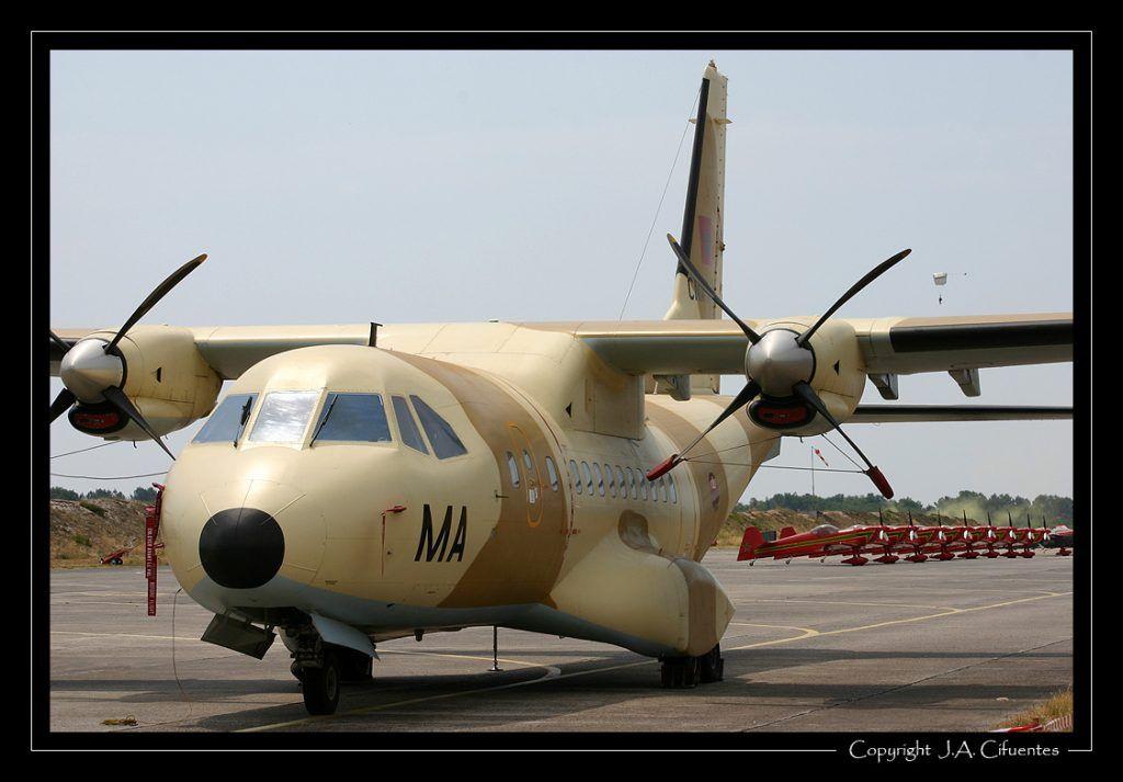 CASA CN-235 100M - Fuerza Aérea de Marruecos.