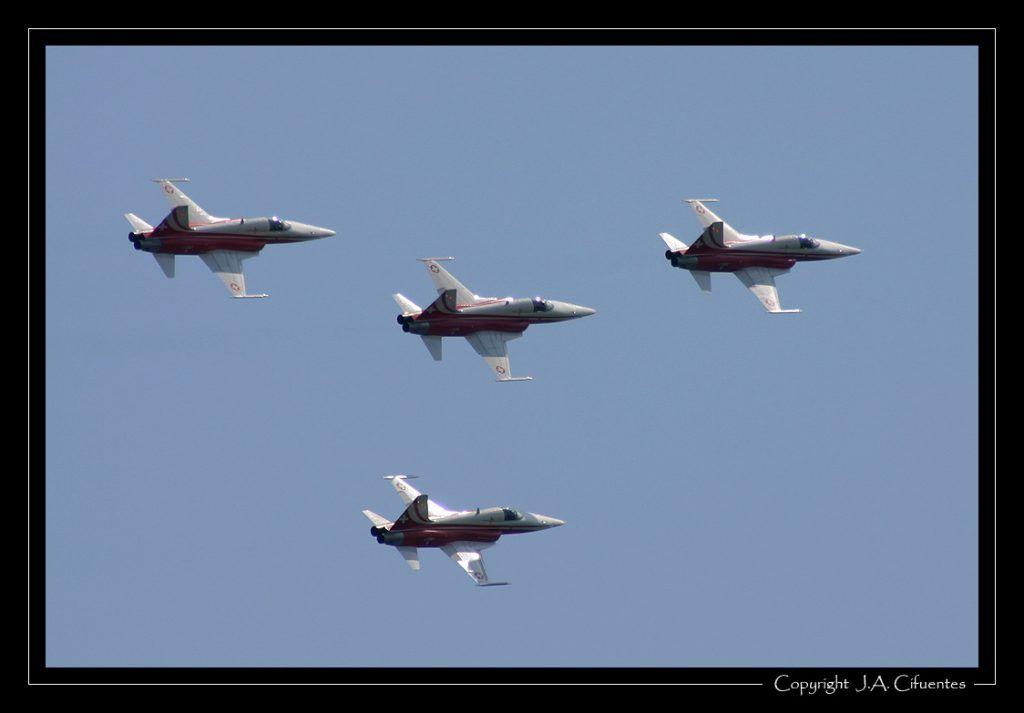 Northrop F-5E Tiger - Patrouille Suisse.