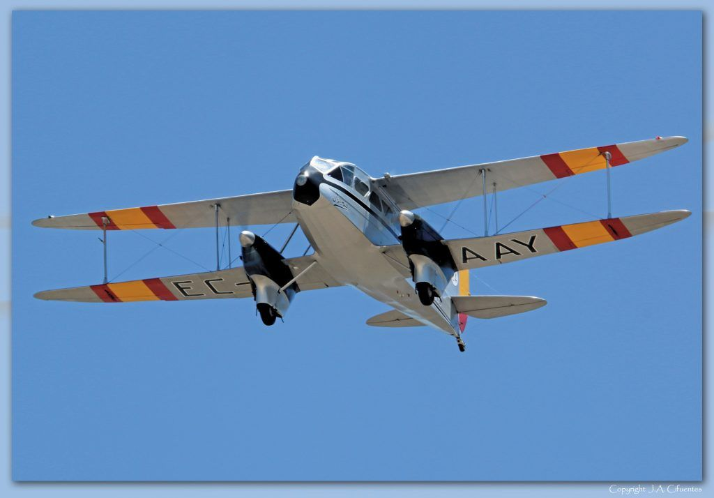 De Havilland DH-89 Dragon Rapide.