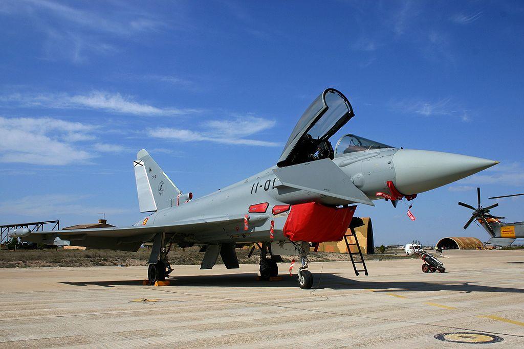 Eurofighter del Ala 11 del Ejercito del Aire.