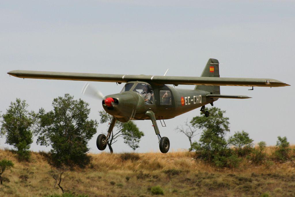 Dornier Do-27-A5 (EC-CHQ) de la Fundació Parc Aeronàutic de Catalunya.
