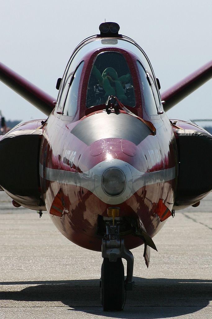 Fouga Magister de la Fuerza Aérea Belga.
