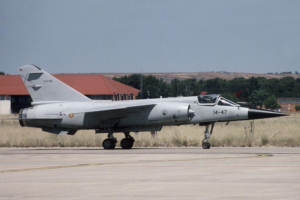 Mirage F1 (C.14-89 / 14-47) del Ala 14 del Ejército del Aire.