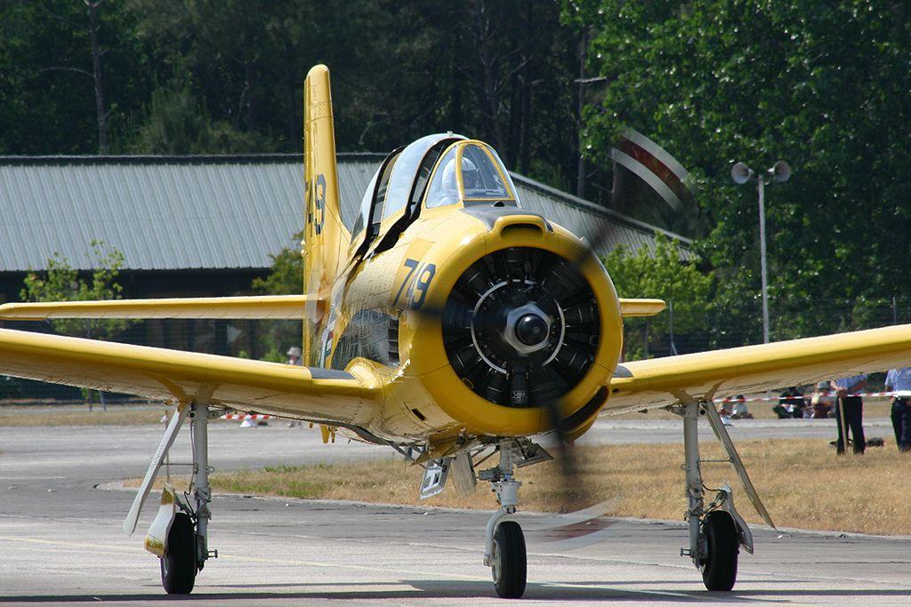 """North American T-28B """"Trojan""""."""