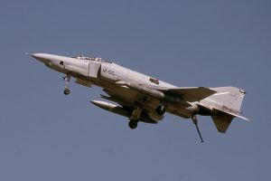 McDonnell Douglas RF-4C Phantom II (CR.12-46 / 12-55) del Ala 12 del Ejército del Aire.