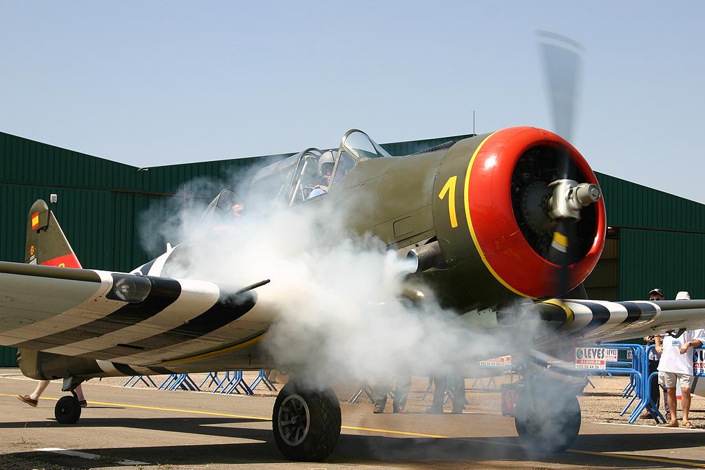 North American T-6 G de la Fundación Aérea de la Comunidad Valenciana.