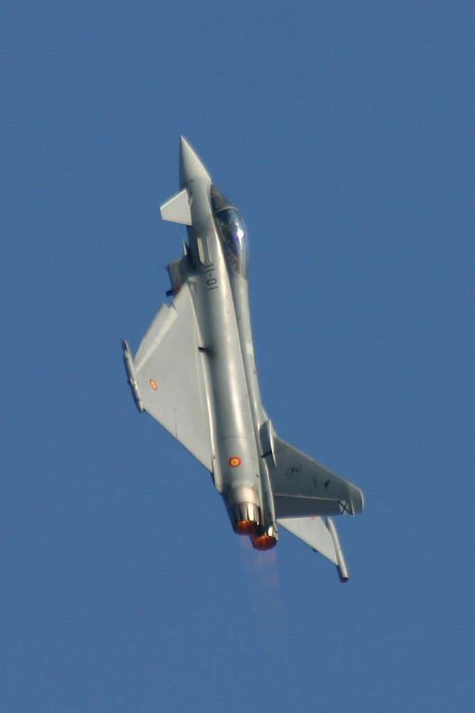 Eurofighter Typhoon del Ala 11 del Ejercito del Aire.