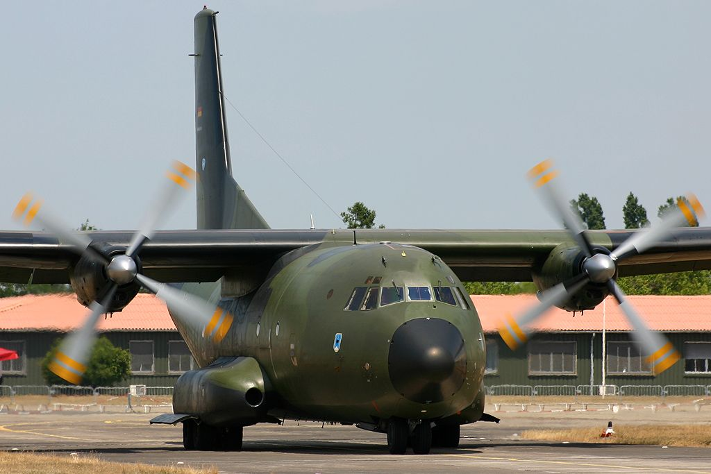 Transall C-160 de la Luftwaffe.