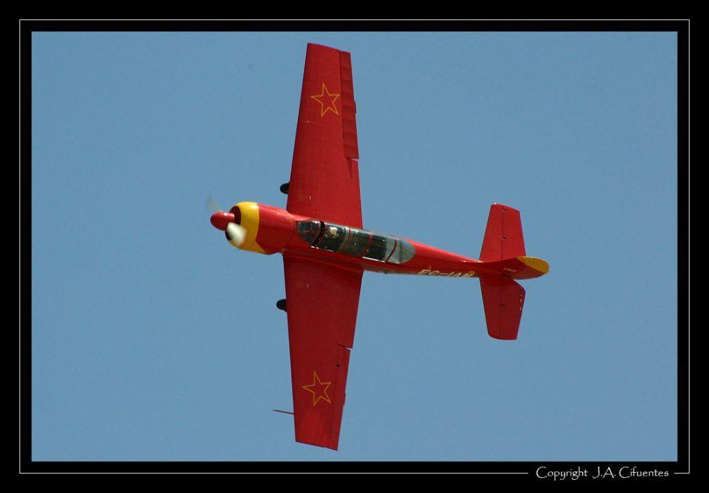 Yakolev Yak-52 de la Asociación JACOB52.