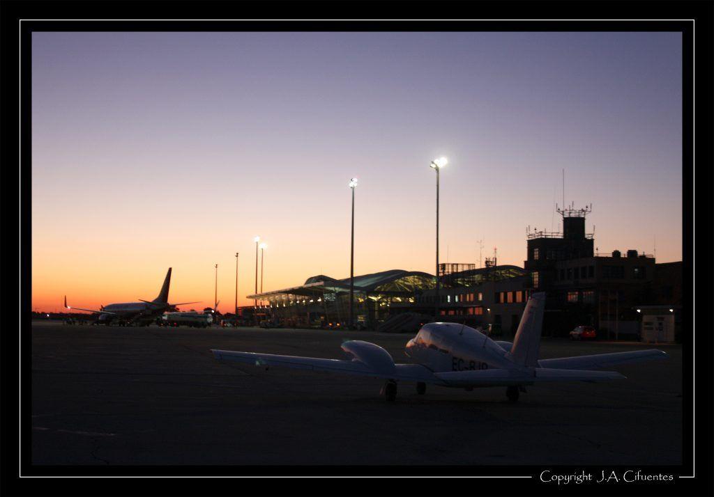Aeropuerto de Zaragoza.