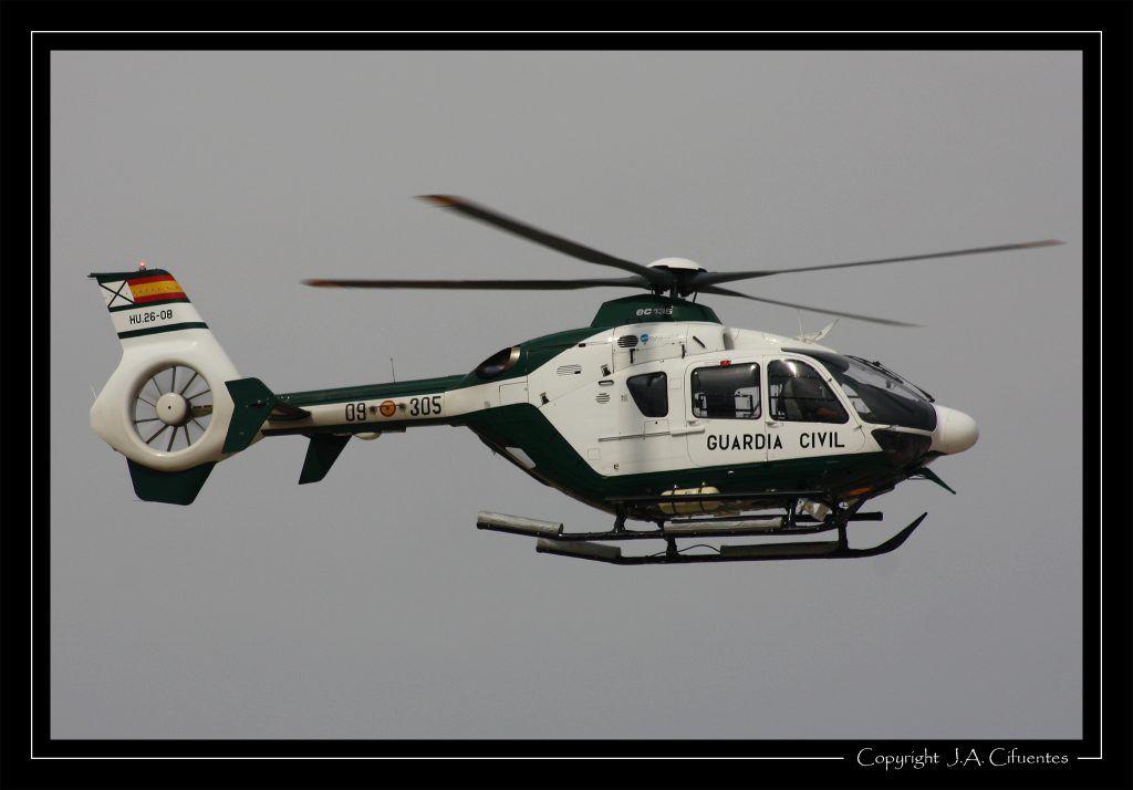 Eurocopter EC-135 de la Guardia Civil.