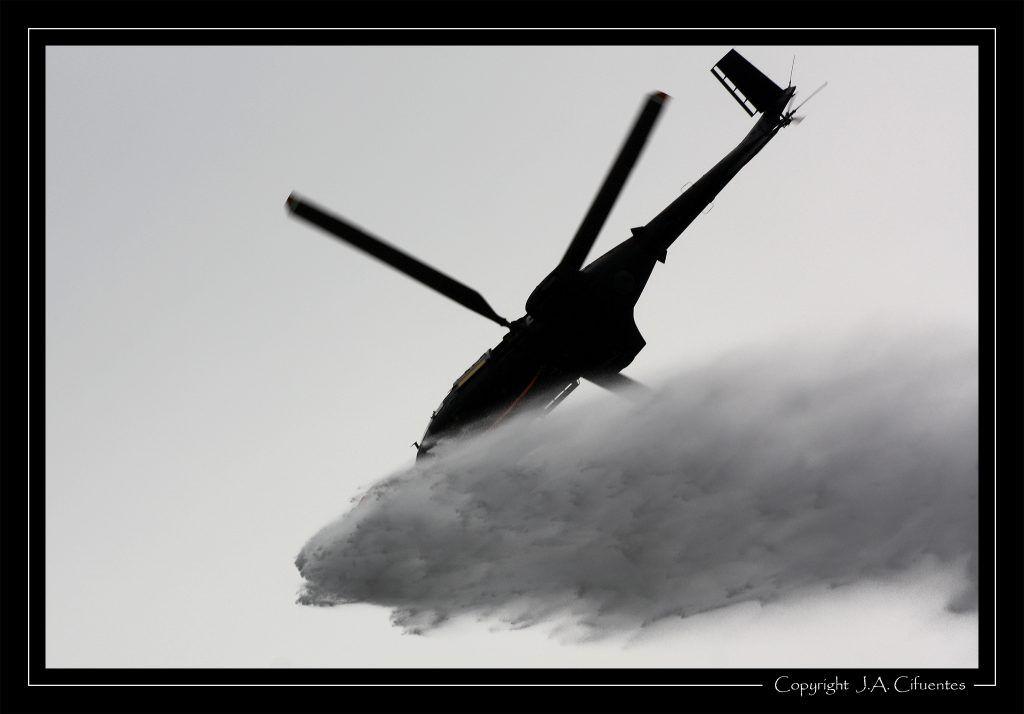 Eurocopter SA.332 Super Puma del Ejercito del Aire.