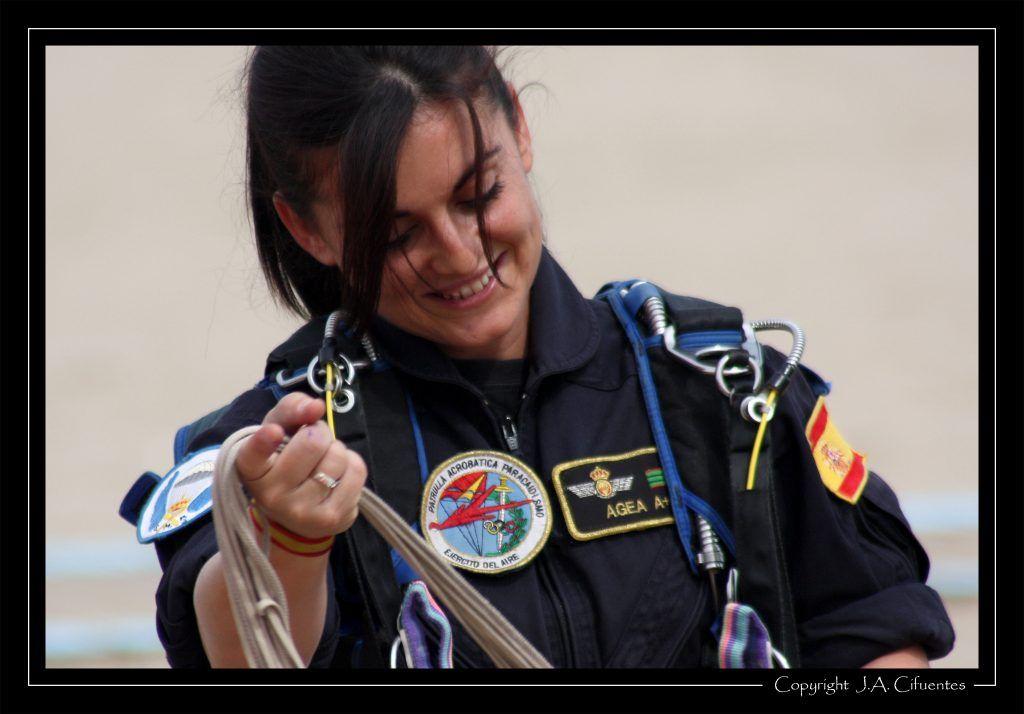 Patrulla Acrobática Paracaidista del Ejercito del Aire - PAPEA.