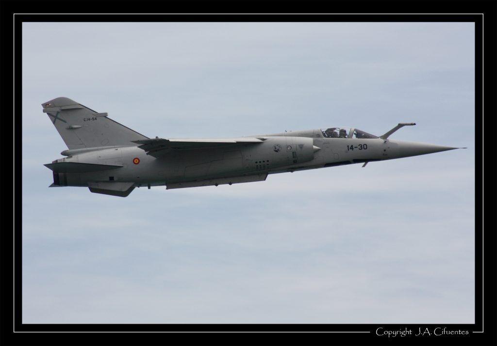 Mirage F-1 del ALA 14 del Ejercito del Aire.