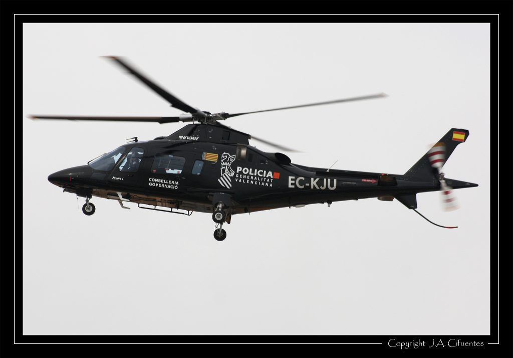 Agusta A-109E Power de la Policia Autonómica Valenciana.