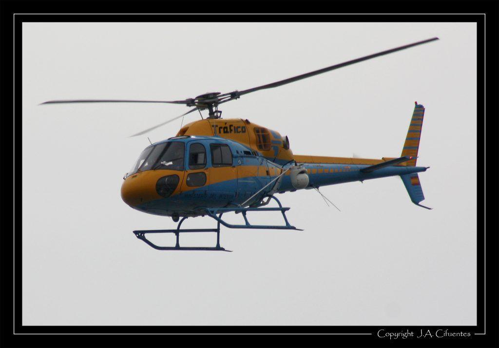 Aerospatiale AS 355N Ecureuil 2 de la DGT.