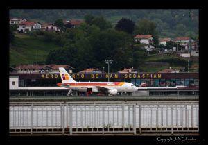Airbus A319 de Iberia (EC-KMD).
