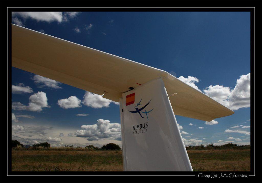 Grob G103-A Twin II Acro EC-HRI del Aeroclub Nimbus de Vuelo a Vela.
