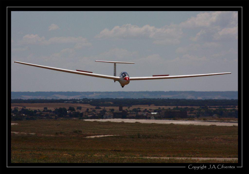 Grob G103 Astir Trainer EC-EPU del Aeroclub Nimbus de Vuelo a Vela.