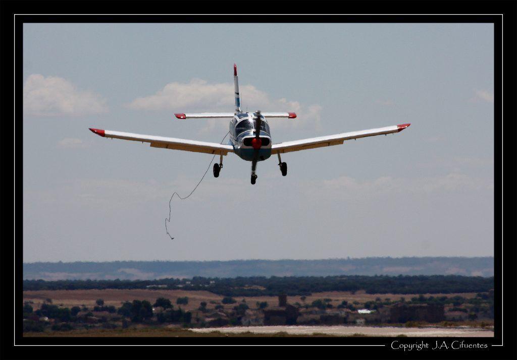 Morane Saulnier MS893A Rallye 180 EC-LDT del Aeroclub Nimbus de Vuelo a Vela.