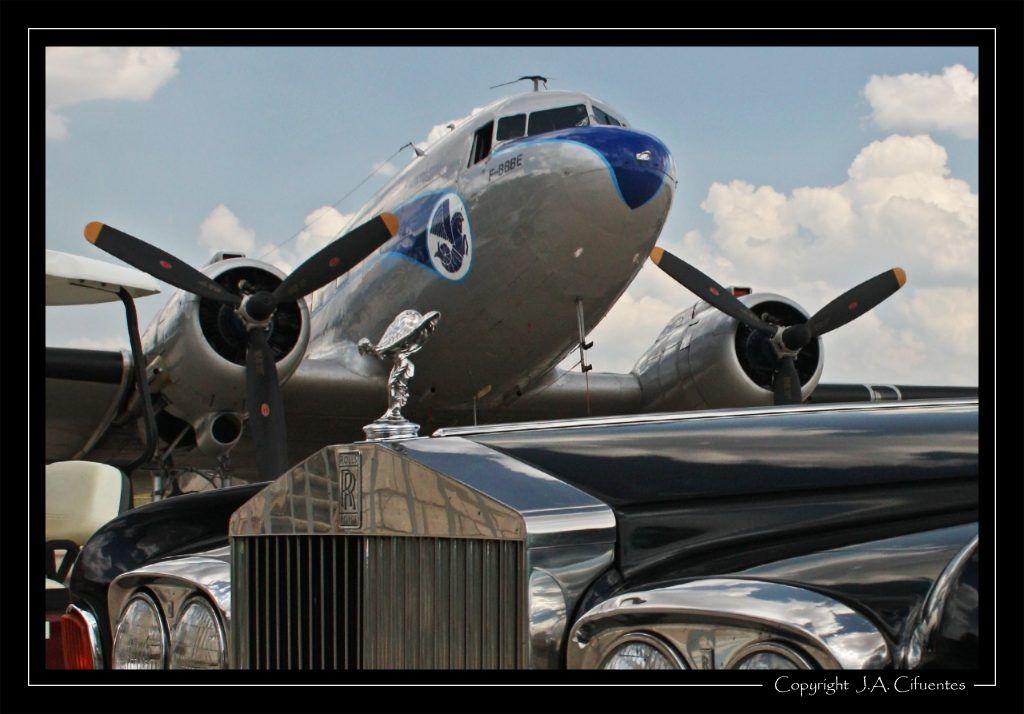 Douglas DC-3 Air France.
