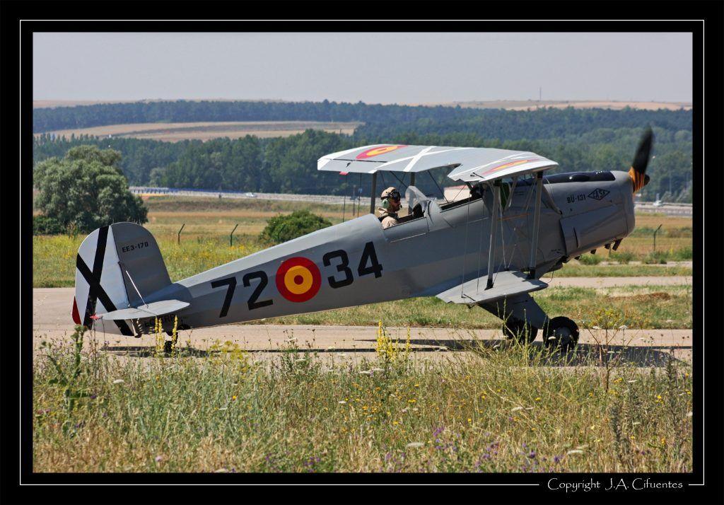CASA (Bücker) C1.131-E2000 Jungmann (EC-ERP) de la Fundación Infante de Orleans.