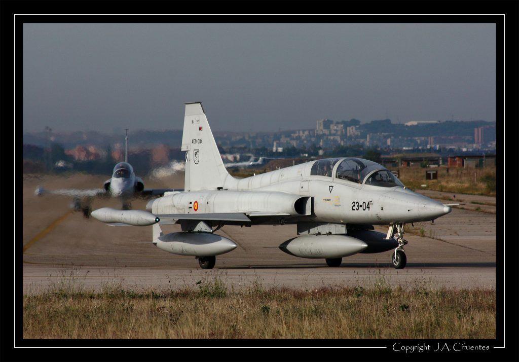 Northrop F-5M del Ala 23 del Ejercito del Aire.