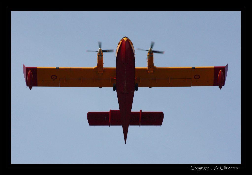 Canadair CL-415 del 43 Grupo.