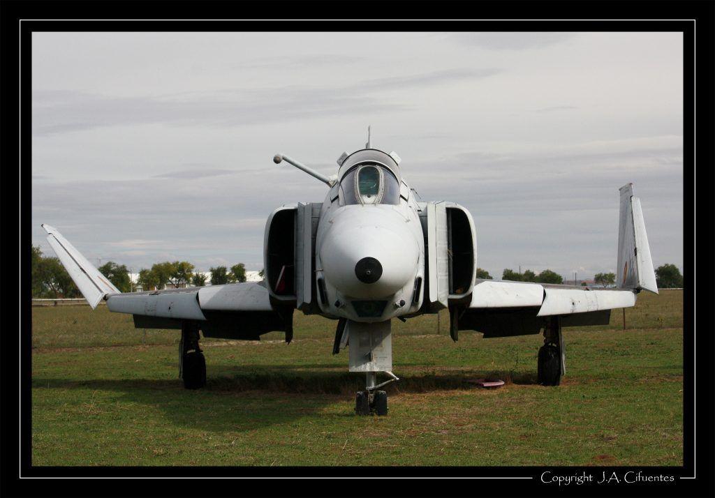 """McDonnell Douglas RF-4C """"Phantom"""" del Ejercito del Aire."""