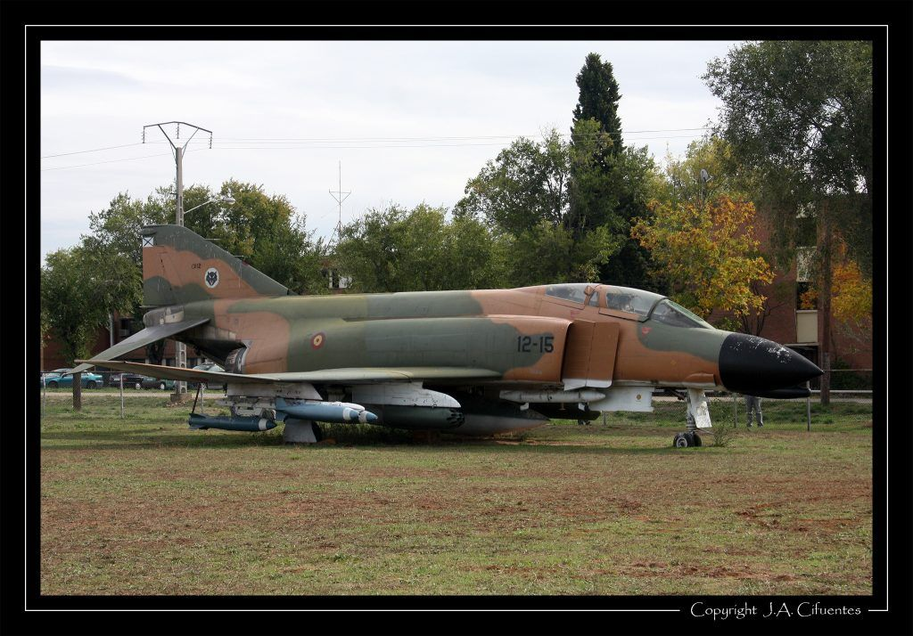 """McDonnell Douglas F-4C """"Phantom"""" del Ejercito del Aire."""