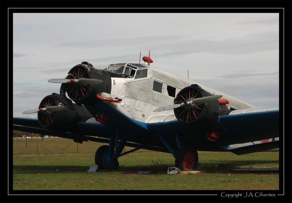 Junkers Ju-52/3m del Ejercito del Aire.