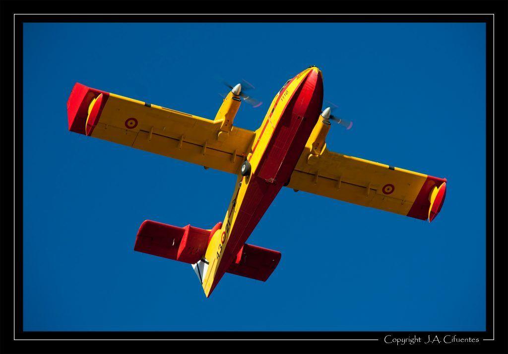 Canadair CL-415 del Ejercito del Aire.