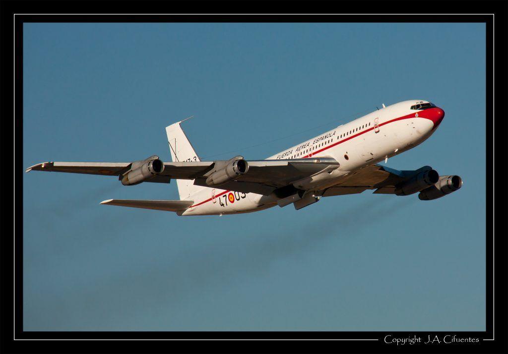 Boeing 707-368C (T.17-3 / 47-03) del Ejercito del Aire.