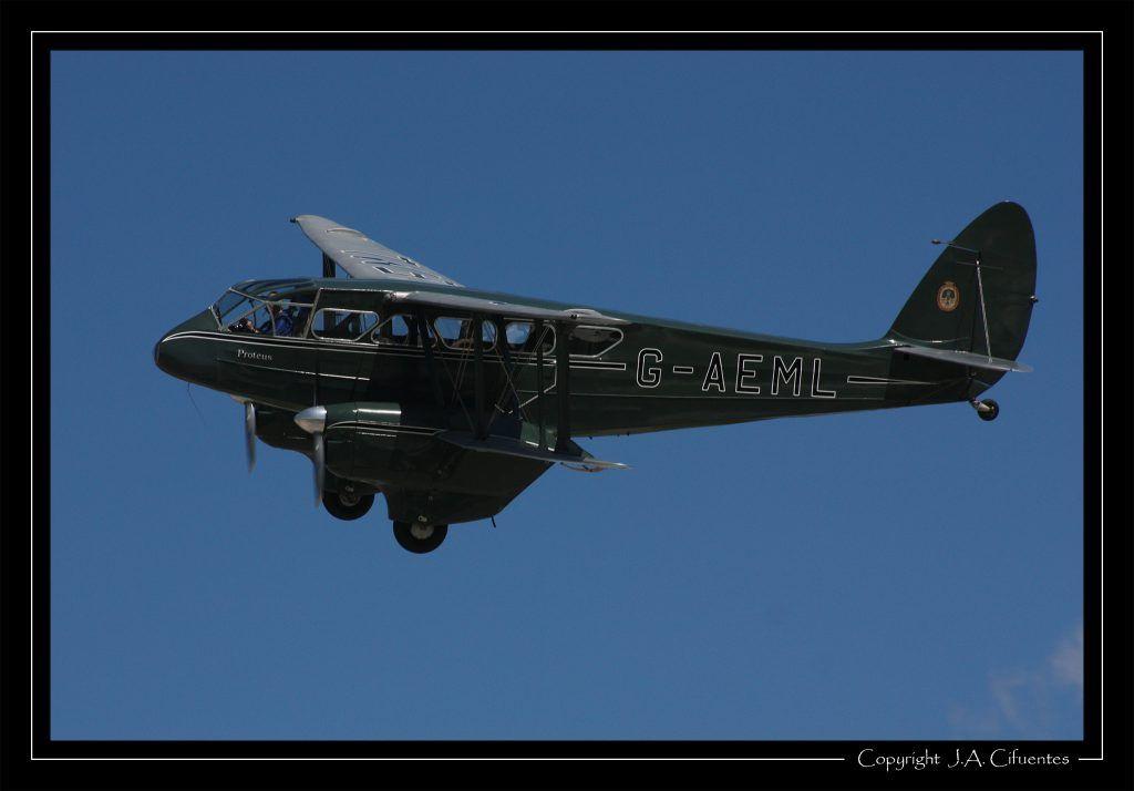 De Havilland DH-89 Dragon Rapide.