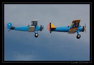 Boeing Stearman 75 «Kaydet» y Consolidated Fleet 2.
