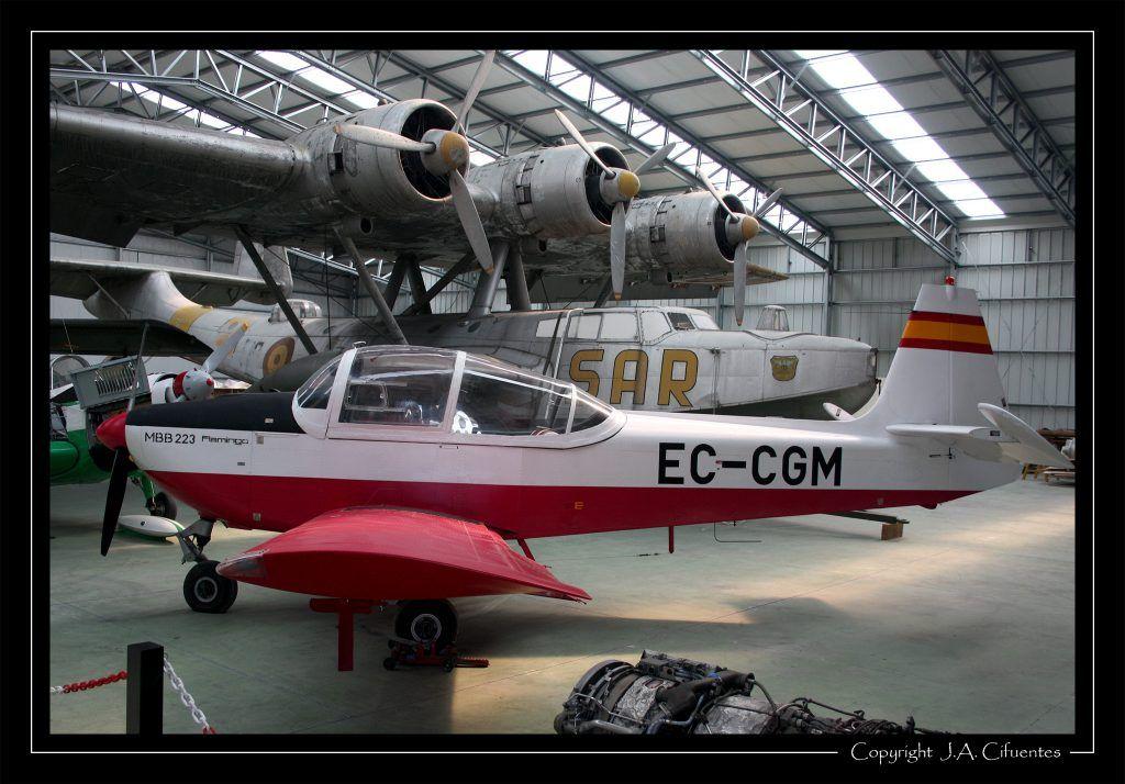 MBB-223 Flamingo y Dornier 24 HD5.