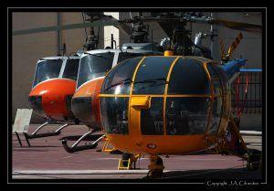 Aerospatiale SA.319B Alouette III y Agusta Bell AB-205.
