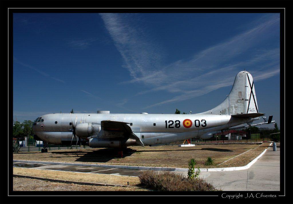 Boeing KC-97L Stratotanker.