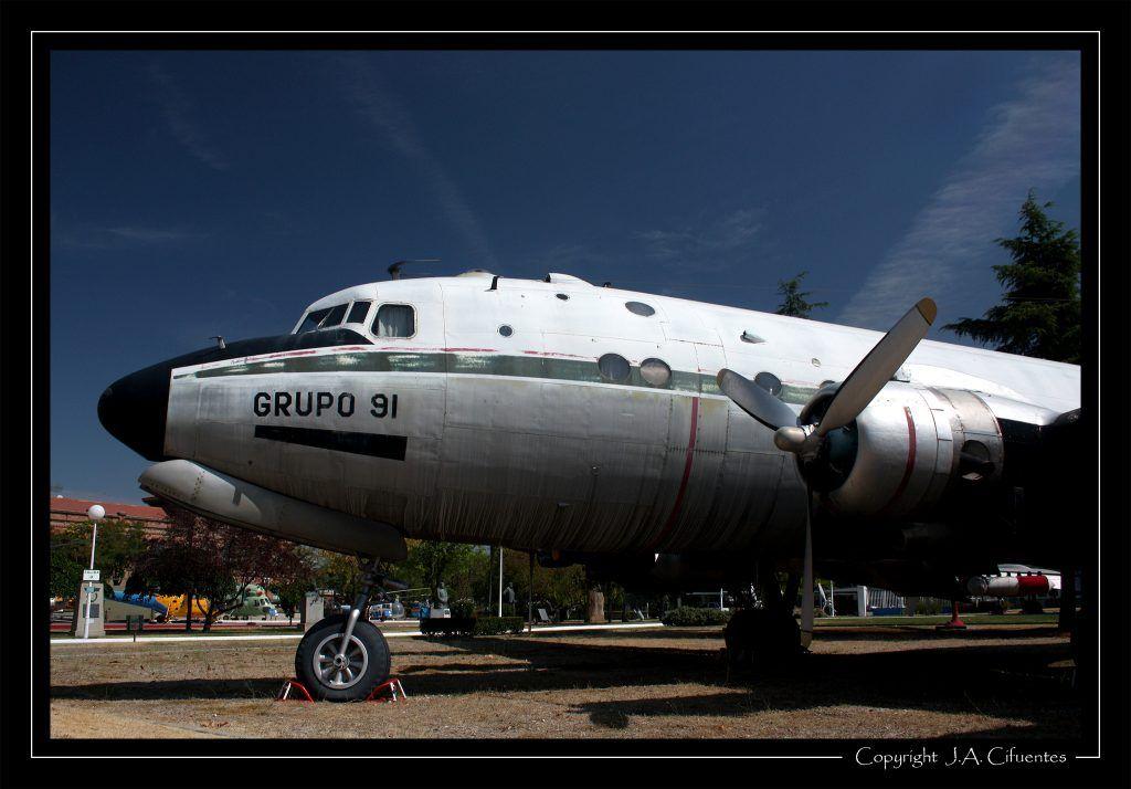 Douglas DC-4 Skymaster.