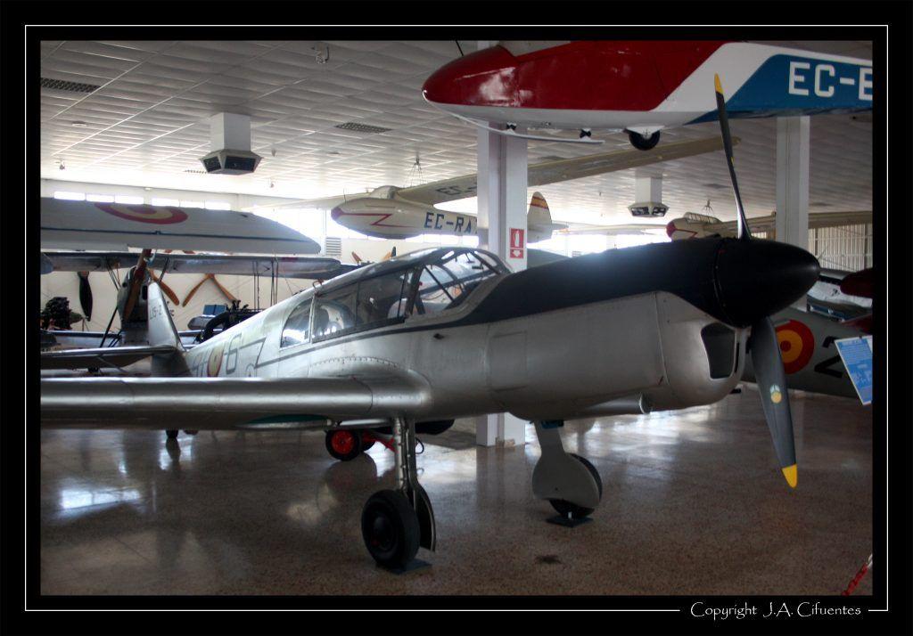 Messerschmitt Me-108 Taifun.