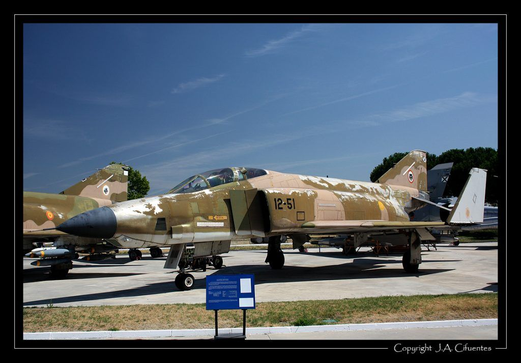 "Mc Donnell Douglas RF-4C ""Phantom""."