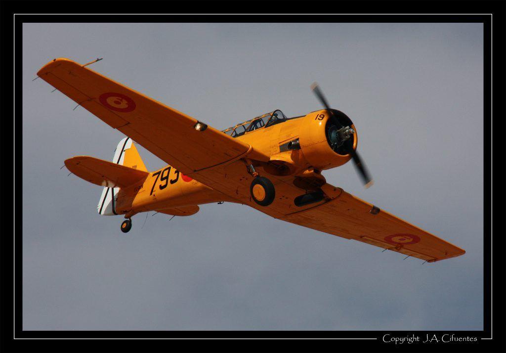 North American T-6 «Texan».