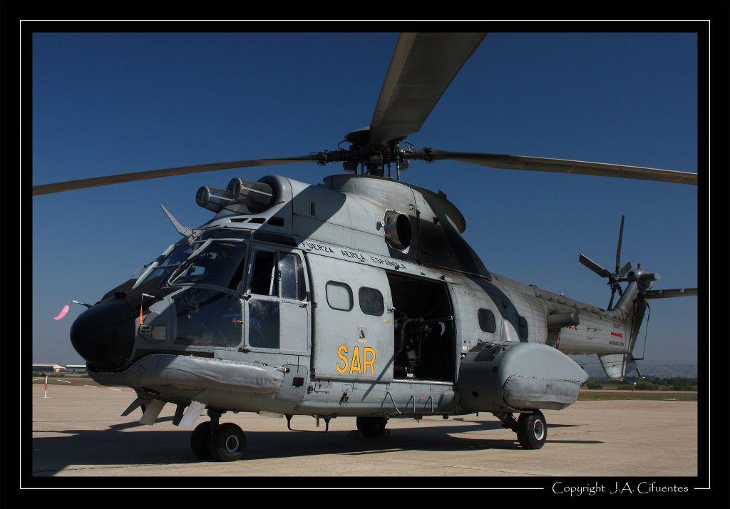 Aérospatiale AS 332 Super Puma del Ejercito del Aire.