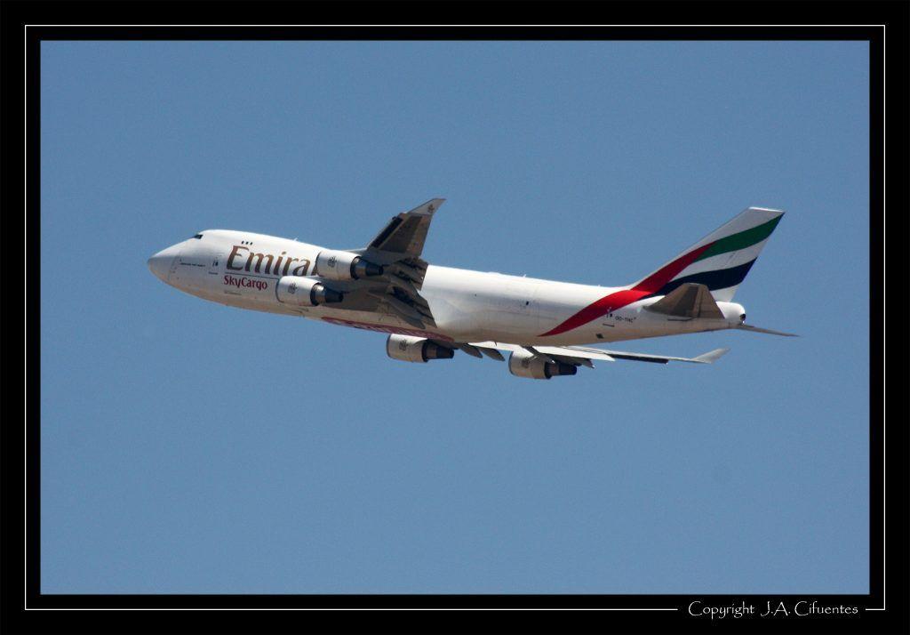 Boeing 747 - MSN 35235 (OO-THC) de Emirates SkyCargo.