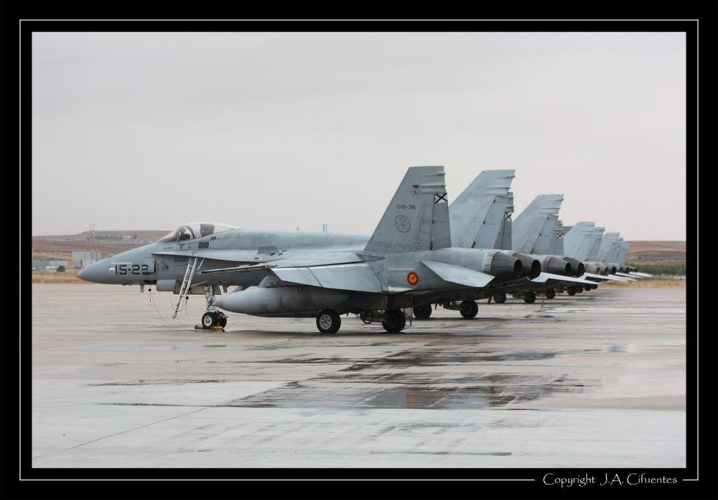 """McDonnel Douglas F-18 """"Hornet"""" Ala 15 del Ejercito del Aire"""
