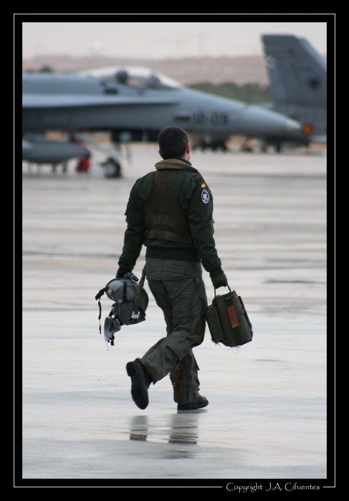 Pilotos del Ejército del Aire.