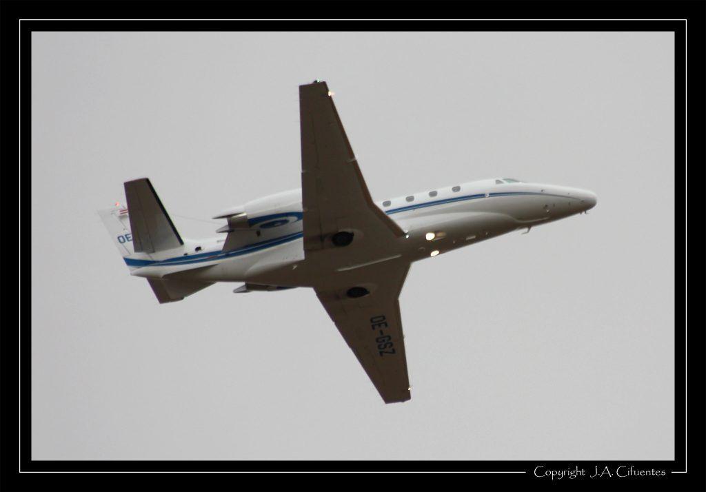 Cessna 560XL Citation XLS (OE-GSZ).