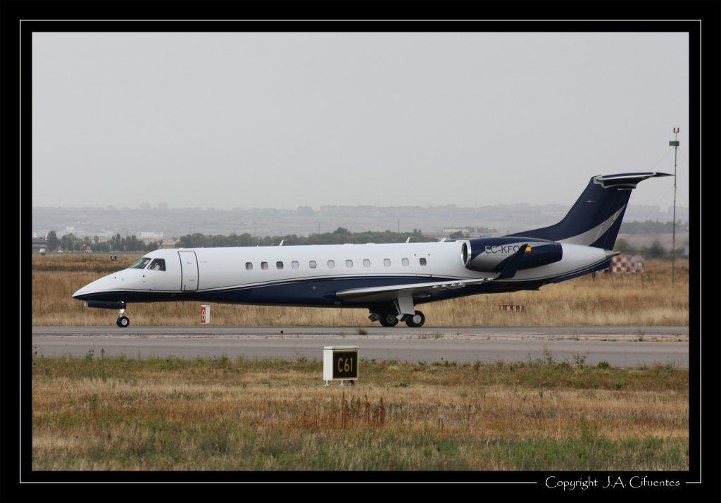 Embraer ERJ135-BJ Legacy 600 (EC-KFQ) de Flylink Express, S.A.